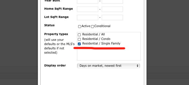 Insert Listings